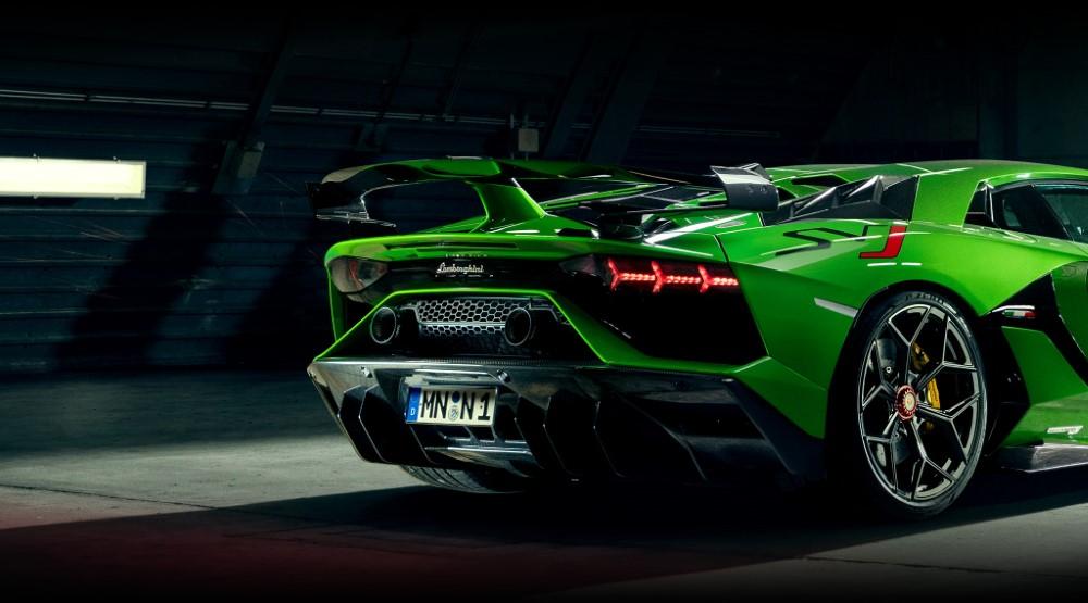 Novitec L1 111 57 Power Optimized Race Exhaust System w/o Flap Regulation Lamborghini Aventador SVJ 2020+