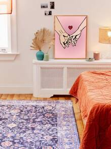 Finger Print Wall Painting Without Frame
