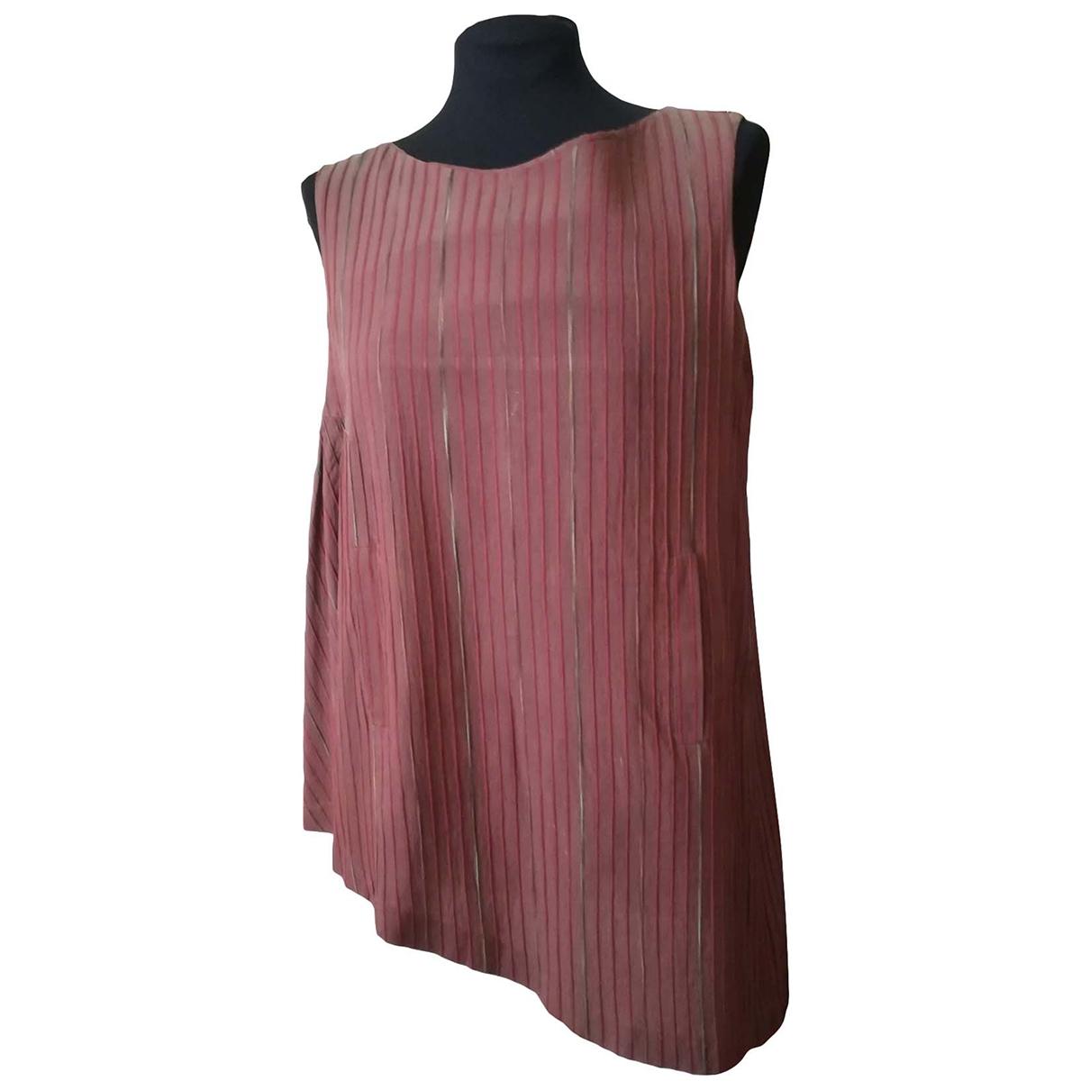Decotiis - Top   pour femme en coton - marron