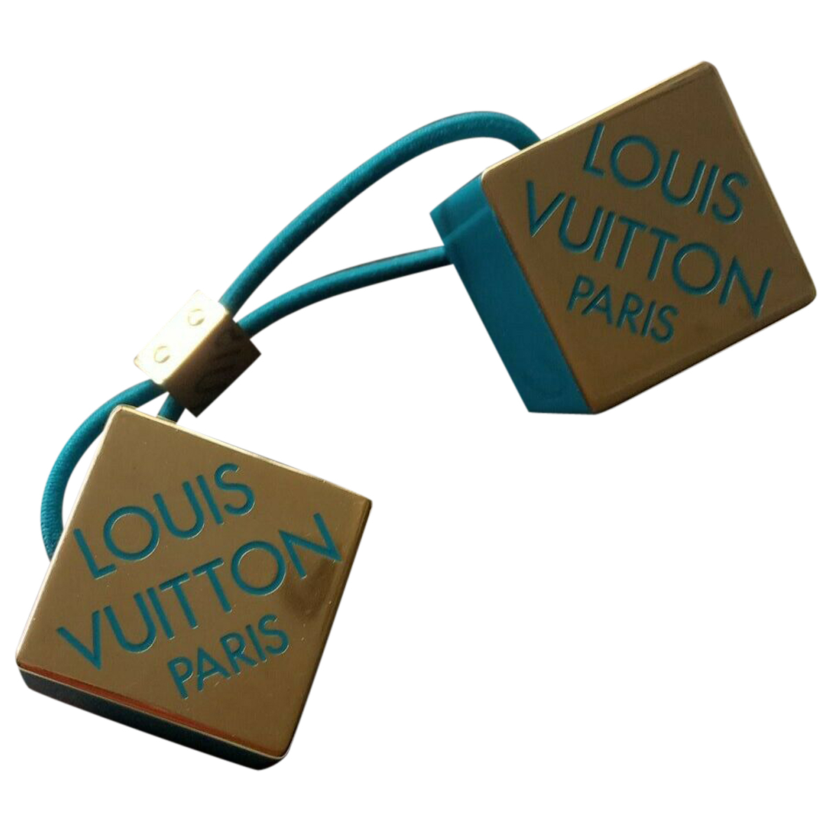 Louis Vuitton \N Blue Metal Hair accessories for Women \N