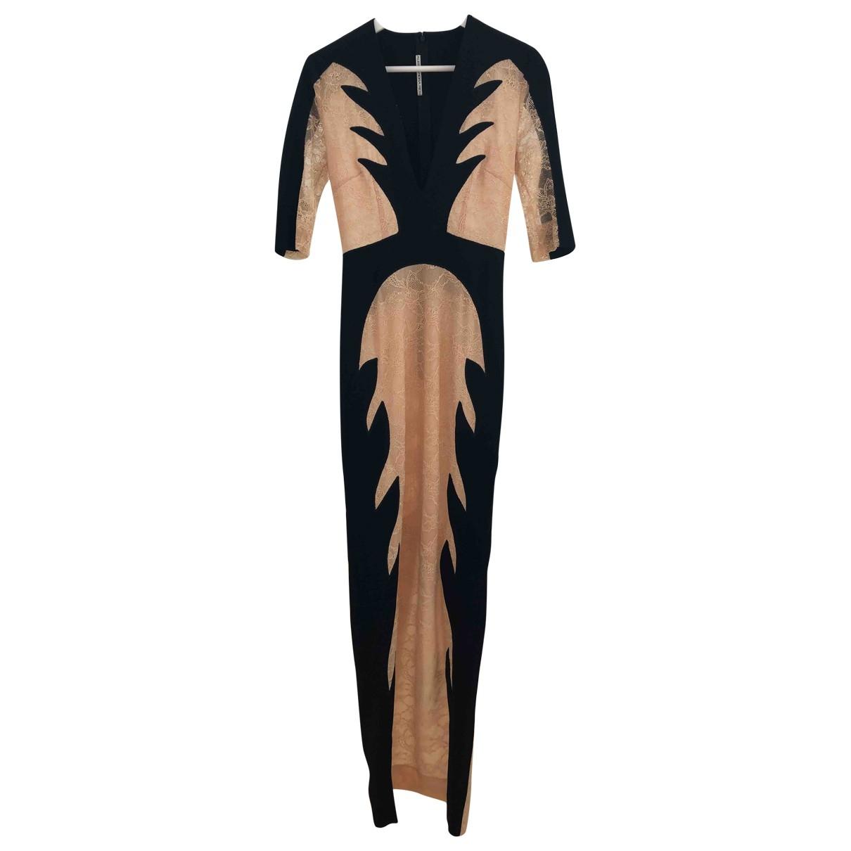 Alessandra Rich \N Kleid in  Schwarz Viskose