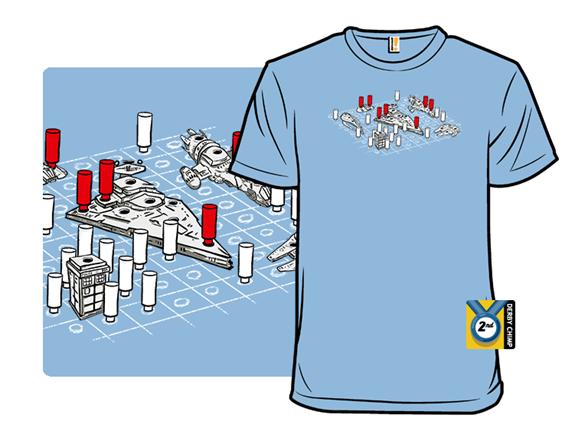 Intergalactic Battleship T Shirt