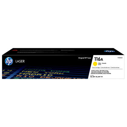 HP 116A W2062A Original Yellow Laser Toner Cartridge