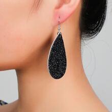 Christmas Glitter Waterdrop Drop Earrings
