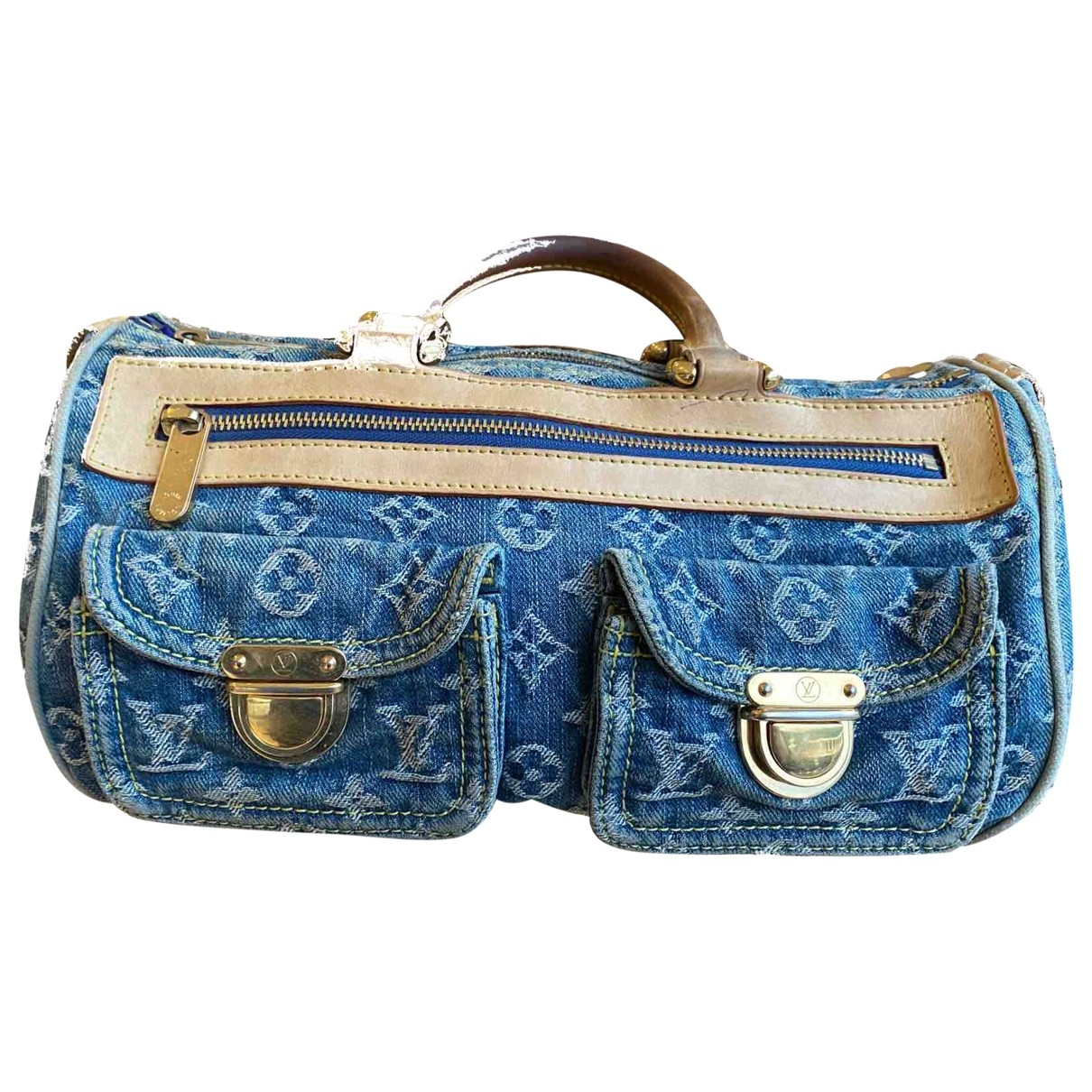 Louis Vuitton Baggy Blue Denim - Jeans handbag for Women \N