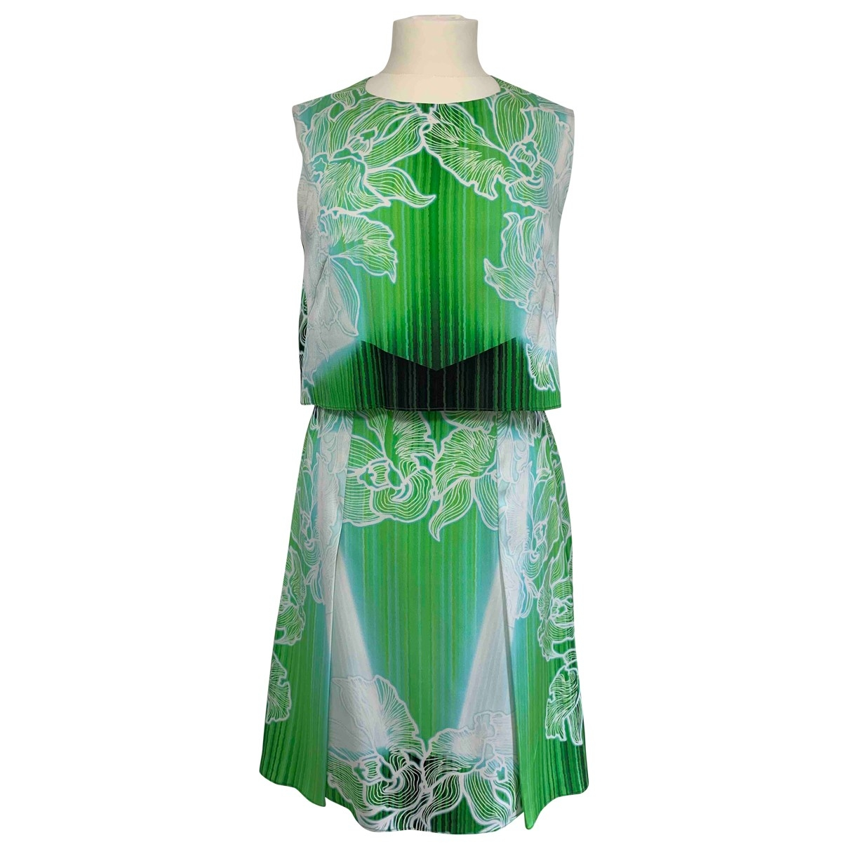 Peter Pilotto \N Green Silk dress for Women 10 UK
