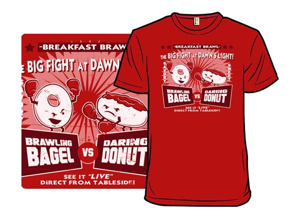 Breakfast Brawl T Shirt