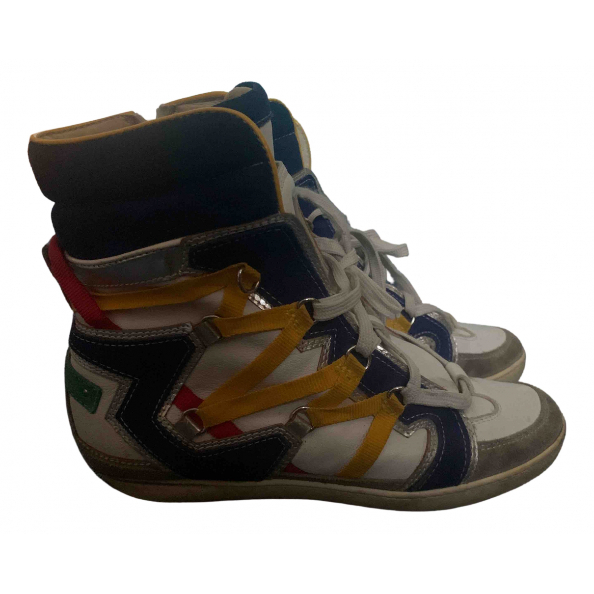 Dsquared2 \N Multicolour Leather Trainers for Women 38 EU
