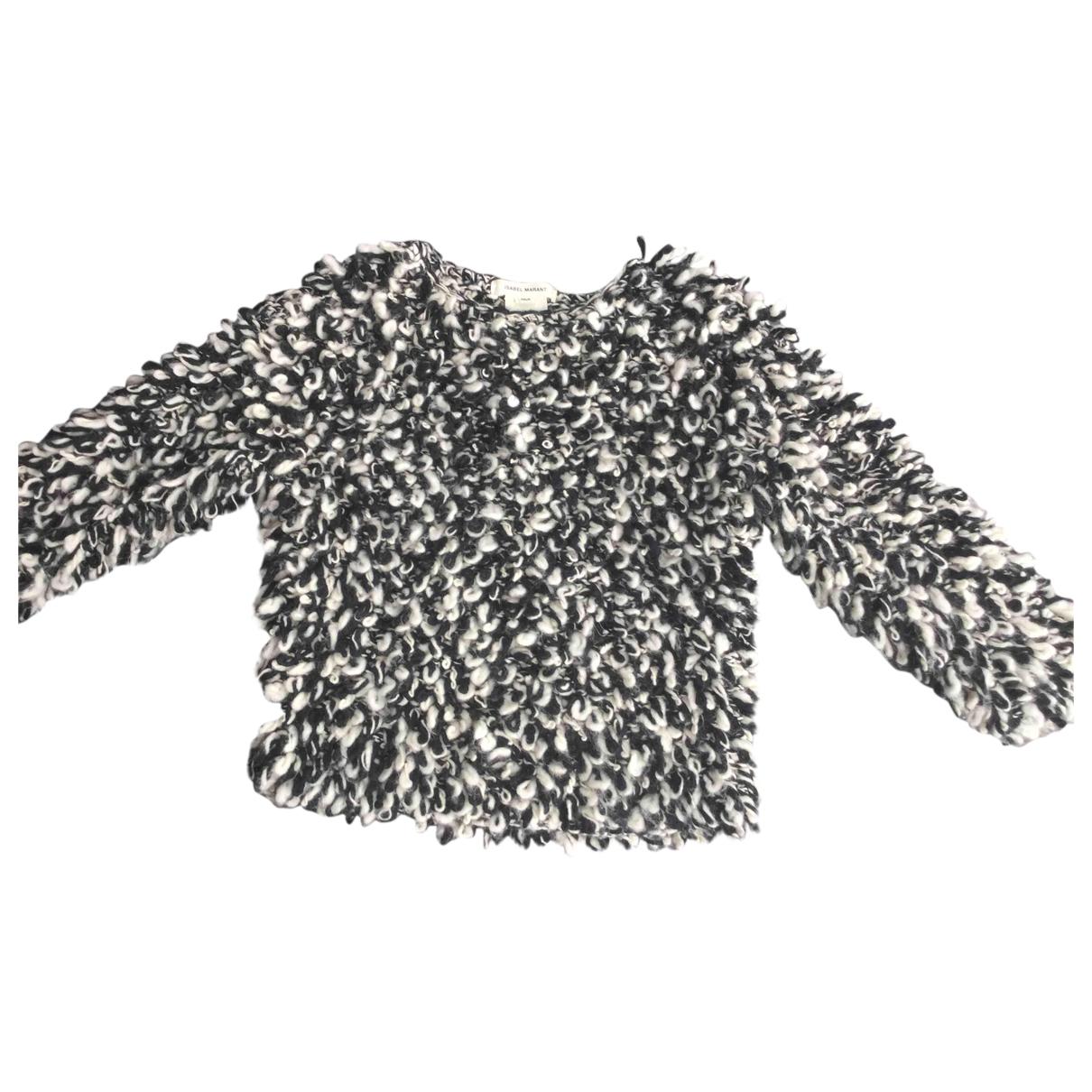 Isabel Marant Pour H&m - Pull   pour femme en laine - noir