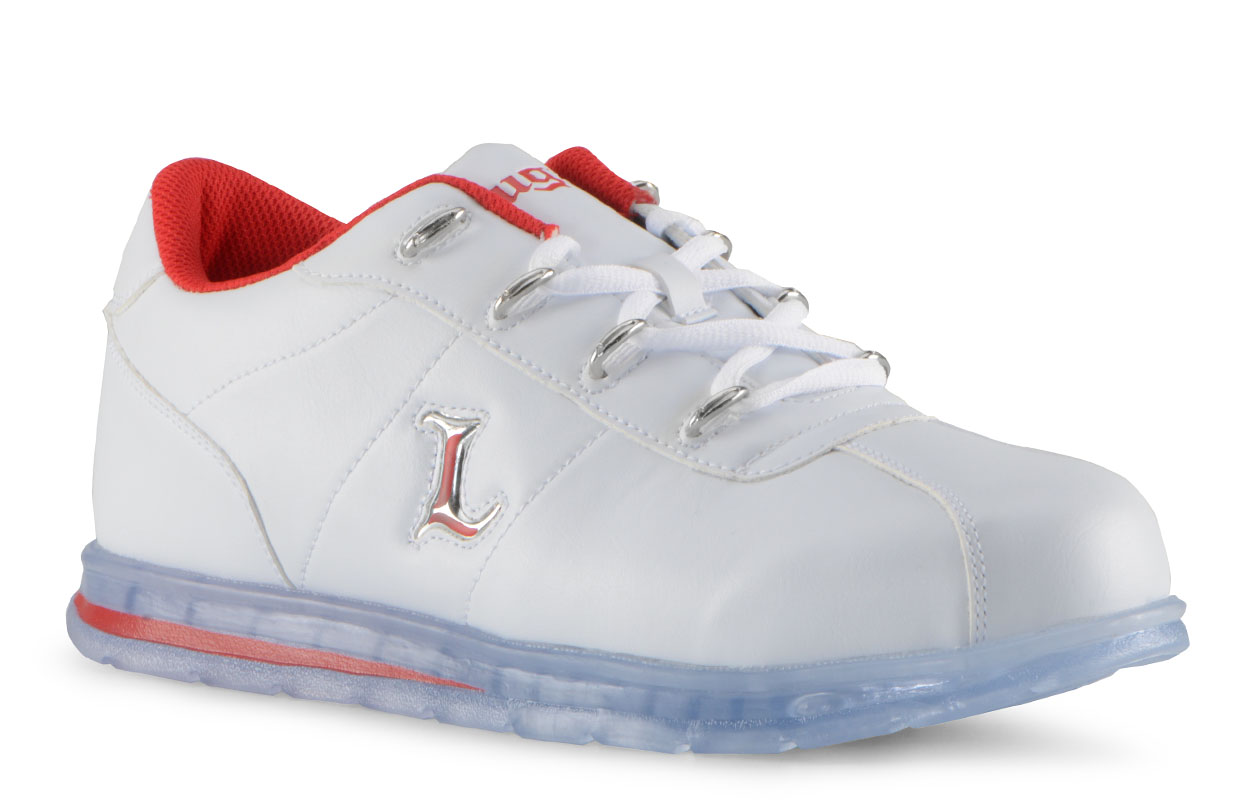 Men's Zrocs DX Oxford Sneaker (Choose Your Color: WHITE/MARS RED/CLEAR, Choose Your Size: 12.0)
