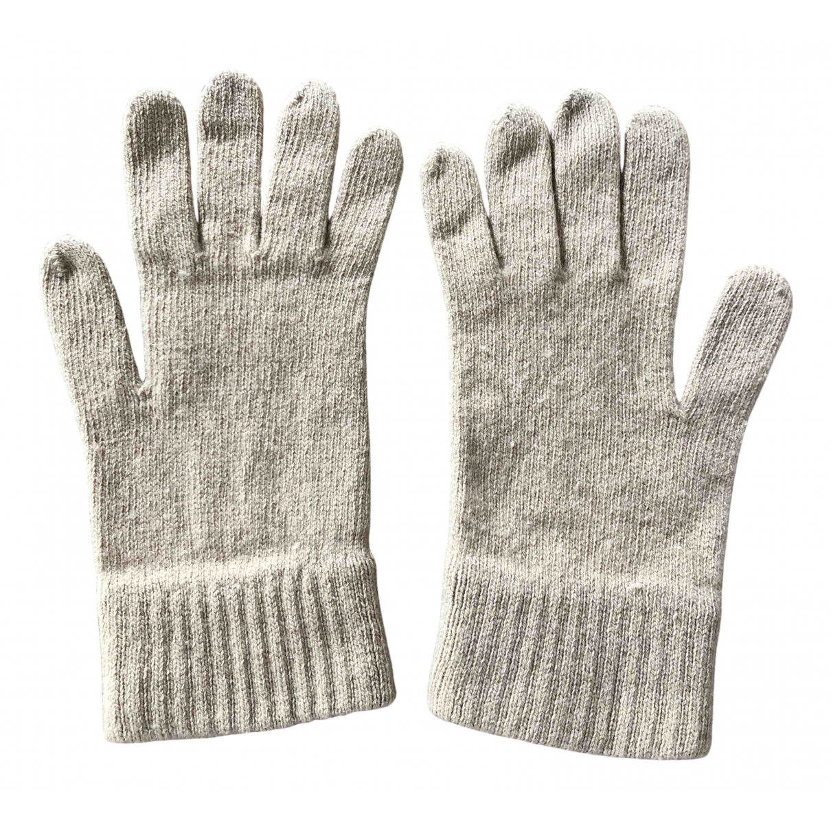 Burberry - Gants   pour femme en laine - beige