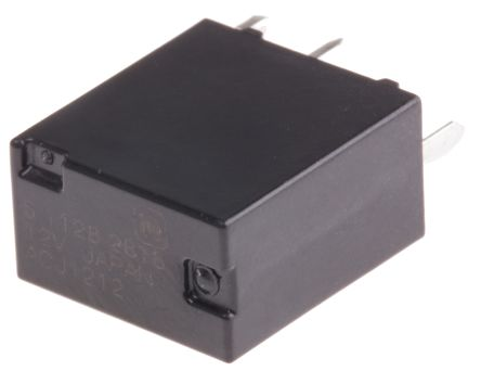 Panasonic , 12V dc Coil Automotive Relay SPDT, 20A Switching Current PCB Mount