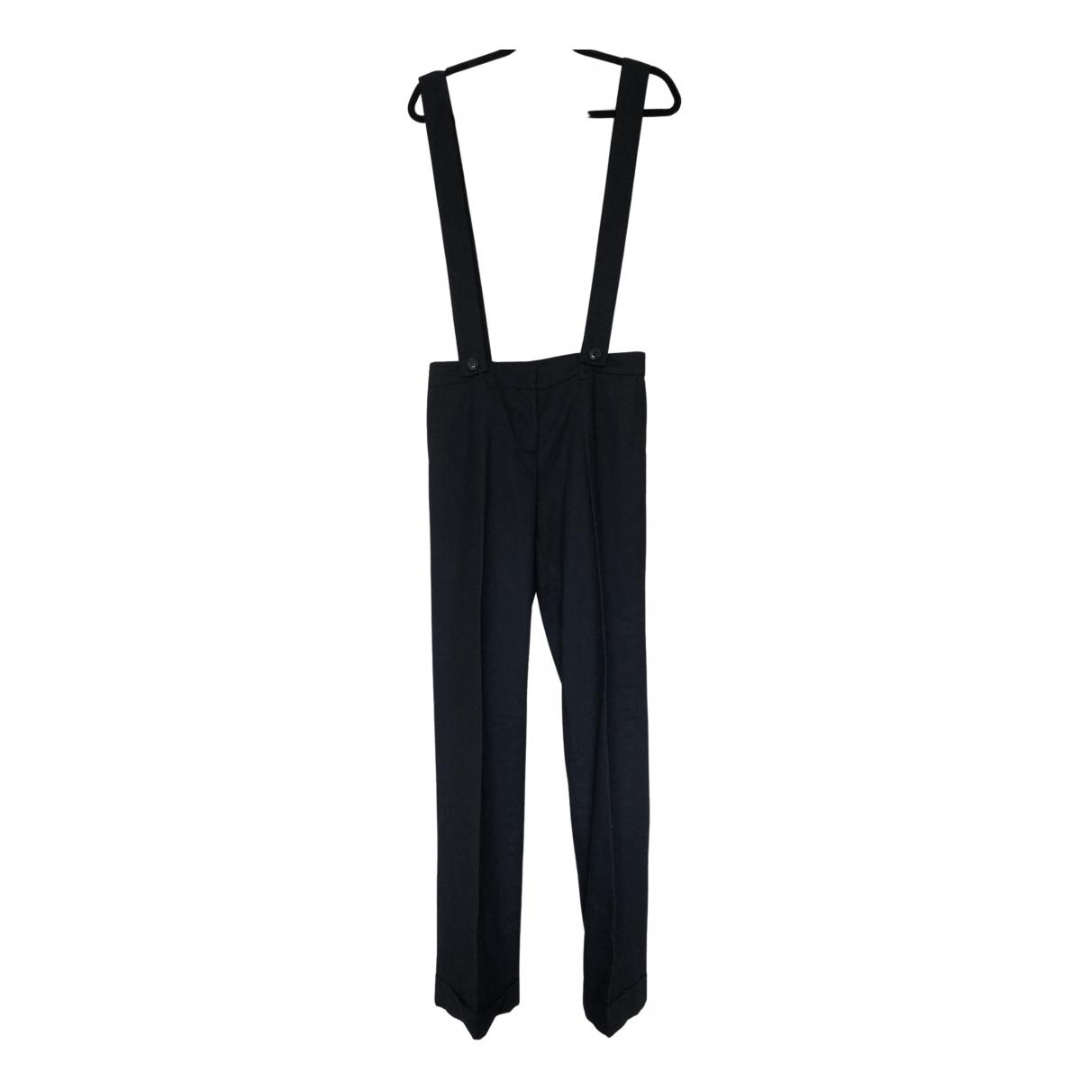 Claudie Pierlot N Black Wool Trousers for Women 1 US