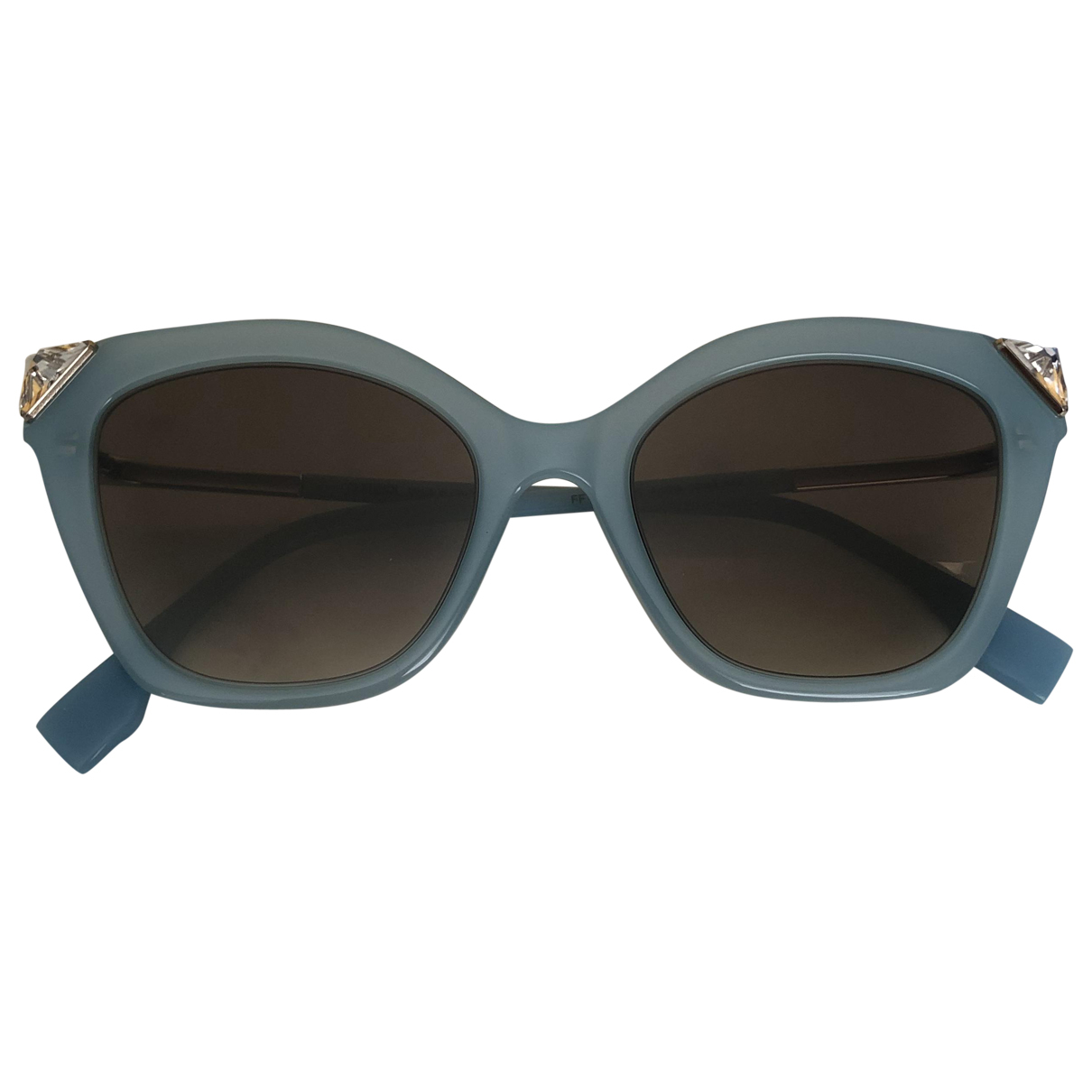 Fendi \N Blue Sunglasses for Women \N