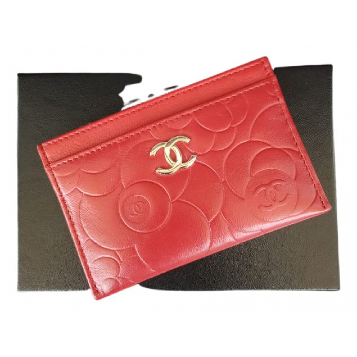 Chanel N Red Leather Purses, wallet & cases for Women N