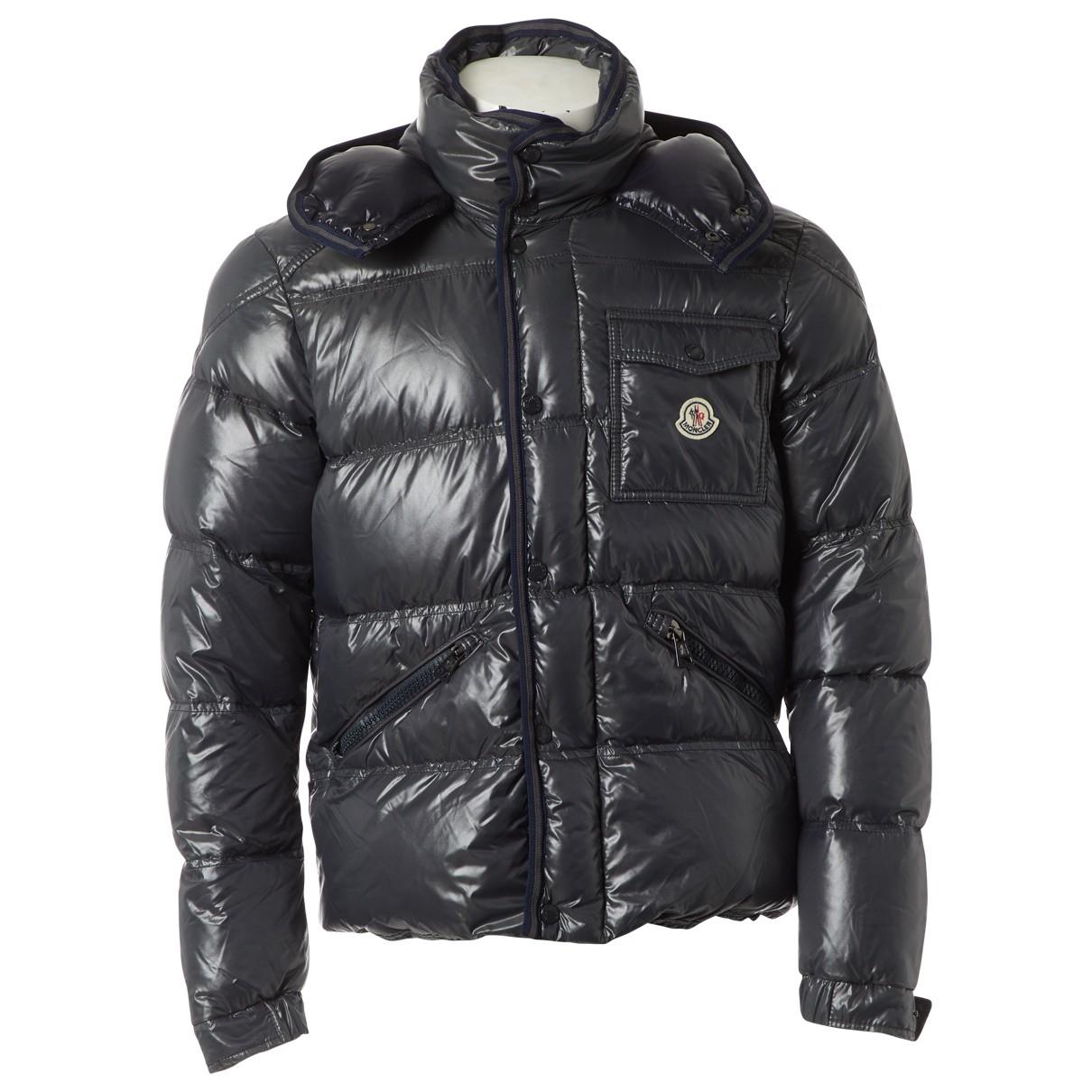 Moncler Hood Anthracite coat  for Men 4 0 - 6