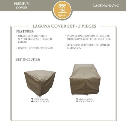 LAGUNA-03cWC Protective Cover Set  for LAGUNA-03c in
