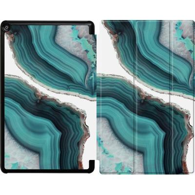 Amazon Fire HD 10 (2018) Tablet Smart Case - Sea Agate von Emanuela Carratoni