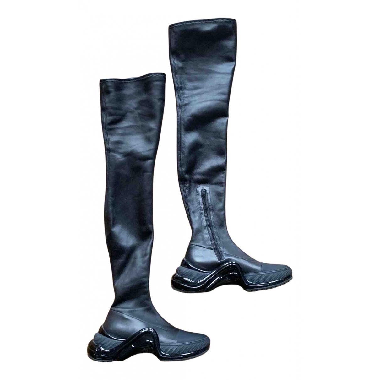 Louis Vuitton Archlight Stiefel in  Schwarz Leder
