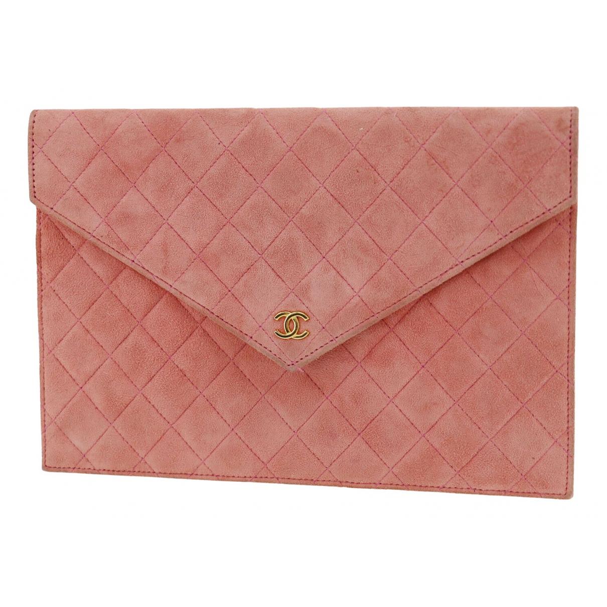 Bolsos clutch en Ante Rosa Chanel
