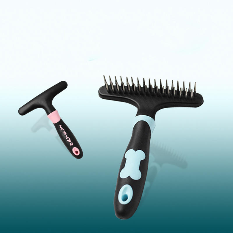 Pet Grooming Dog Steel Comb for Large Dog Teddy Brush Cleaning Dog Hair