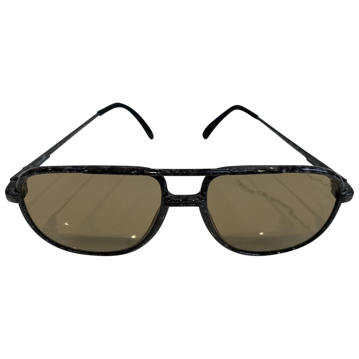 Lacoste \N Sonnenbrillen in  Grau Kunststoff