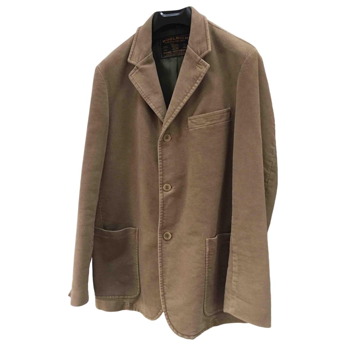 Woolrich - Vestes.Blousons   pour homme en coton - beige