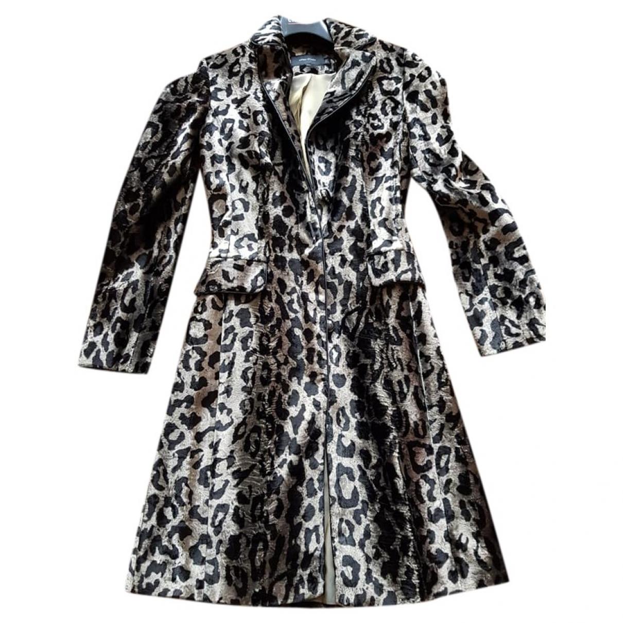 Karen Millen \N Black Velvet coat for Women 8 UK