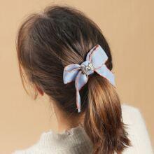 Bow Decor Hair Clip