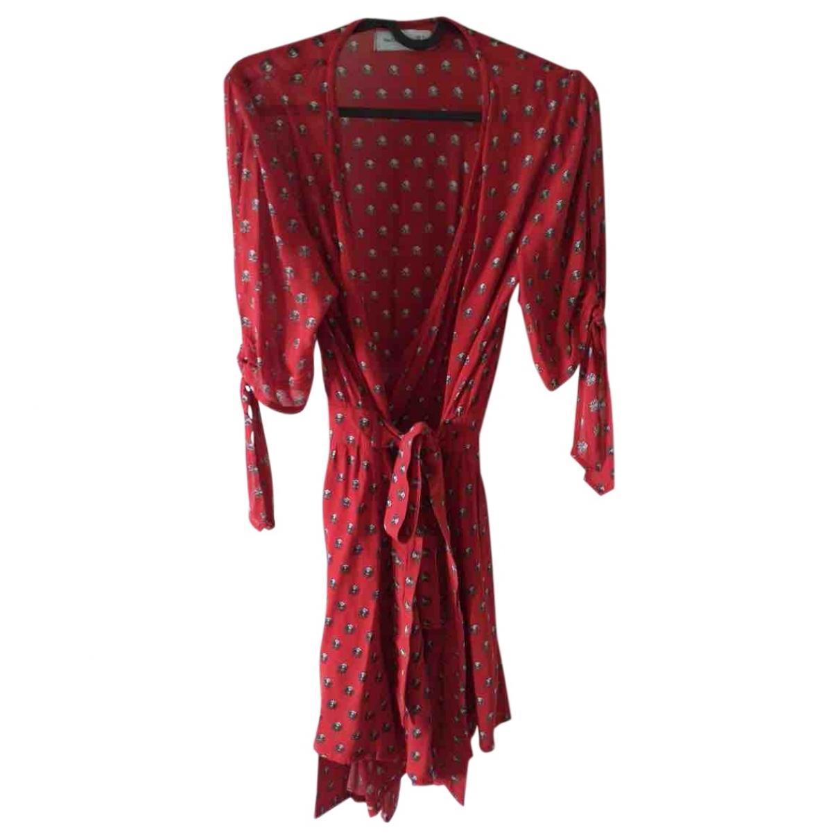 Faithfull The Brand \N Red Cotton dress for Women S International