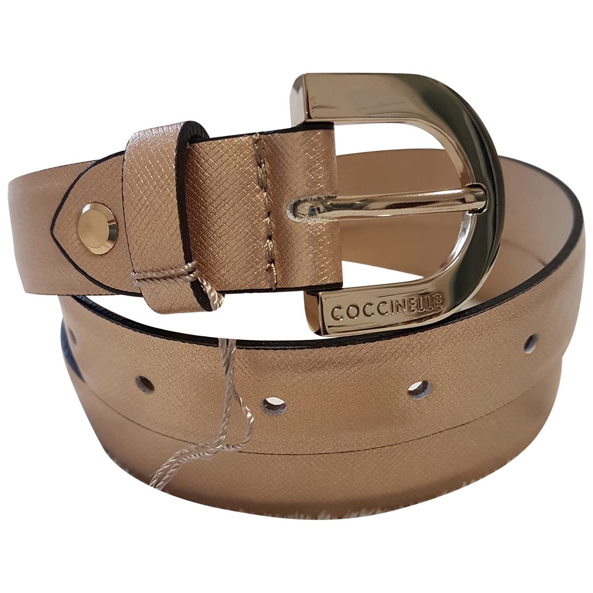 Cinturon de Cuero Coccinelle