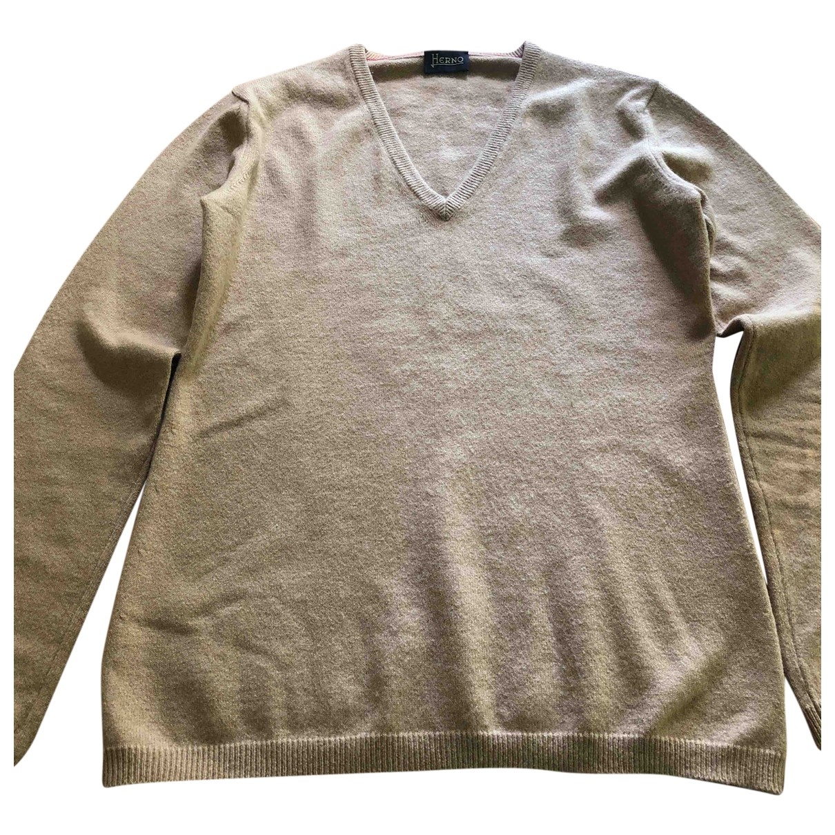 Herno \N Camel Cashmere Knitwear for Women 44 IT