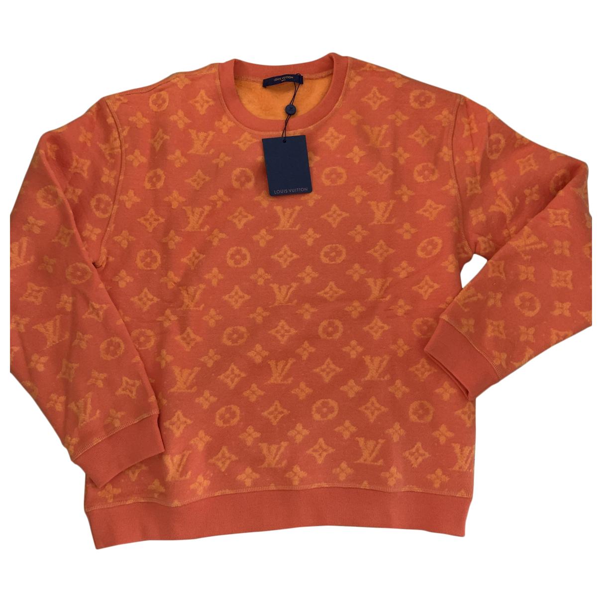 Louis Vuitton - Pulls.Gilets.Sweats   pour homme en coton - orange
