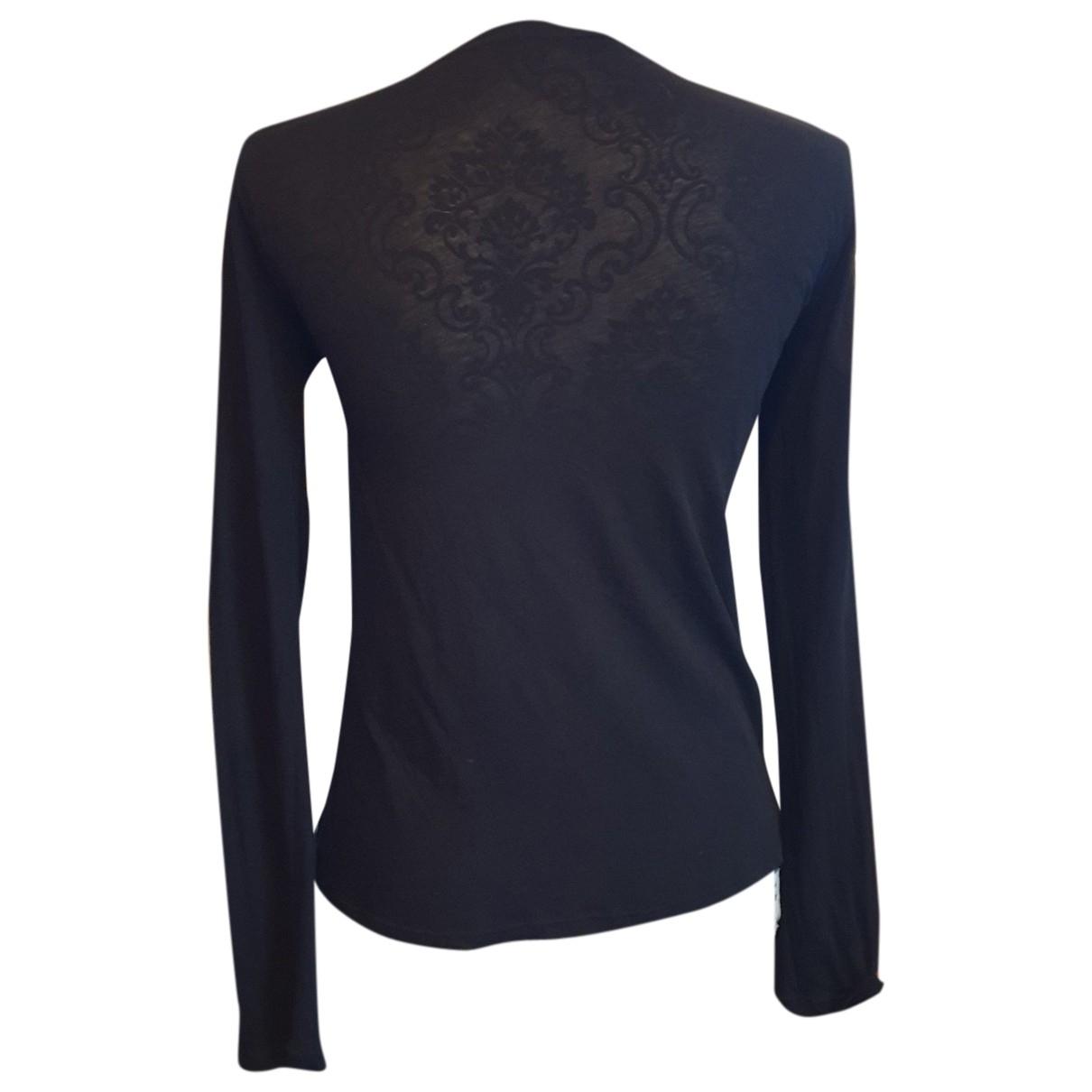 Comptoir Des Cotonniers - Top   pour femme en coton - noir