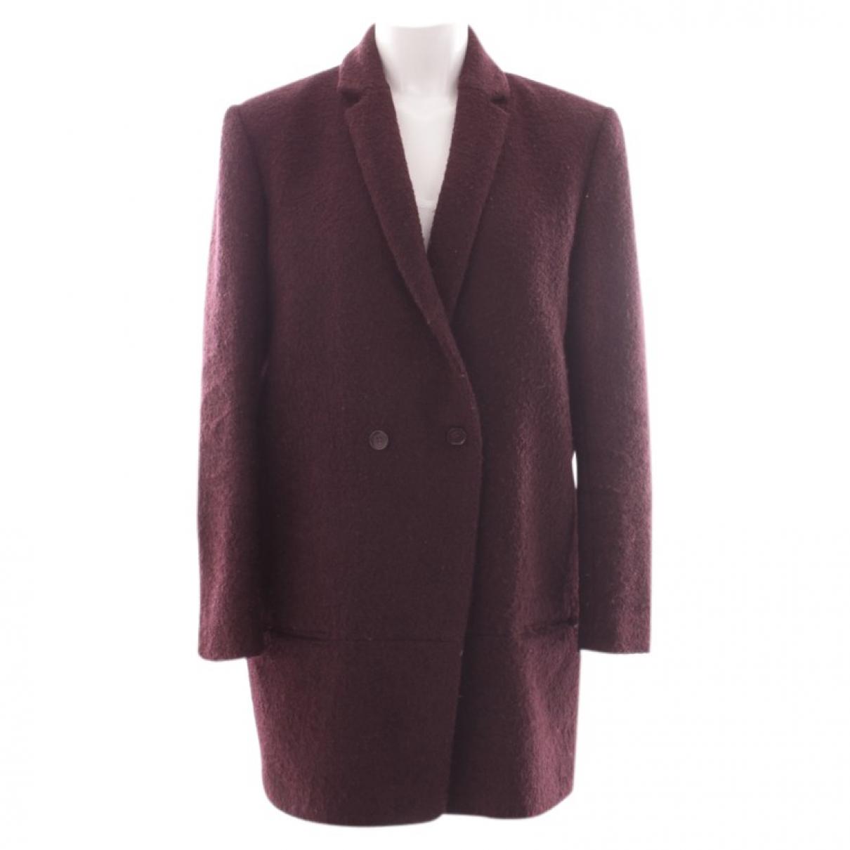 The Kooples \N Purple Wool jacket for Women 42 FR