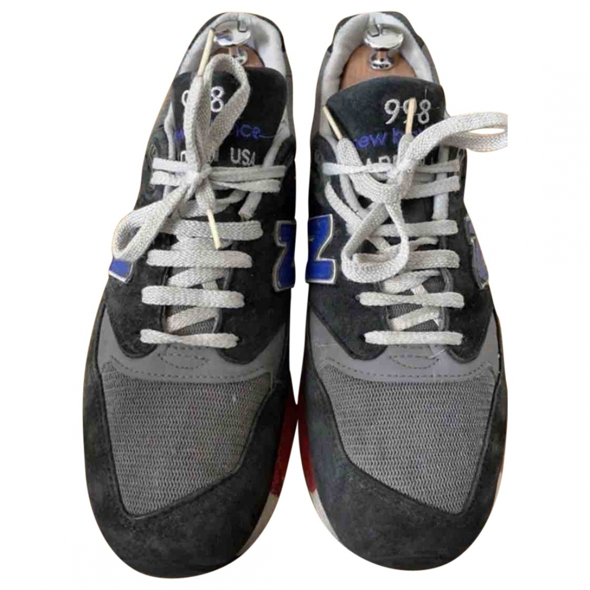New Balance \N Grey Cloth Trainers for Men 43 EU