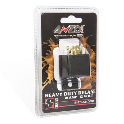 Anzo 12 Volt DC 30 Amp Relay - 851063