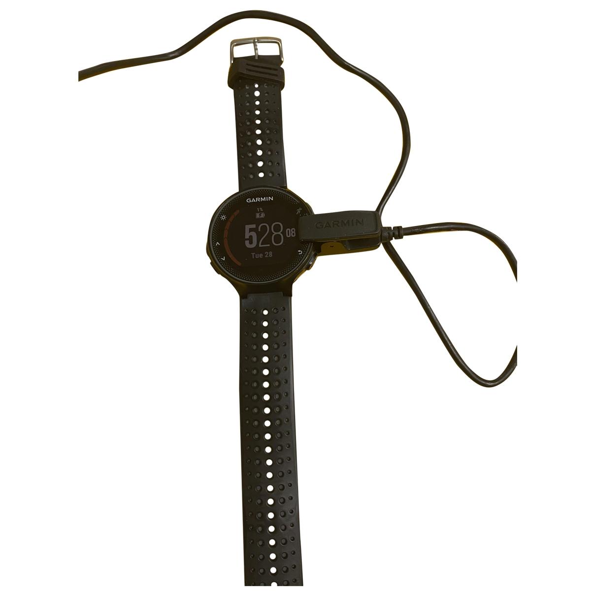 Garmin \N Black Rubber watch for Women \N