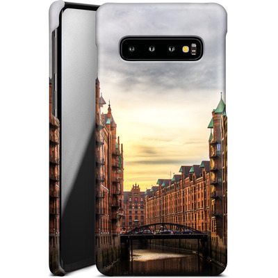 Samsung Galaxy S10 Smartphone Huelle - Speicherstadt von caseable Designs
