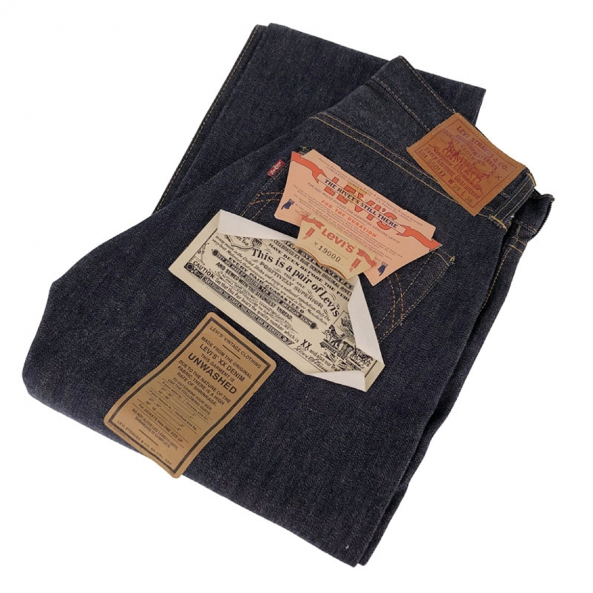 Levi's \N Navy Cotton Trousers for Men 28 UK - US