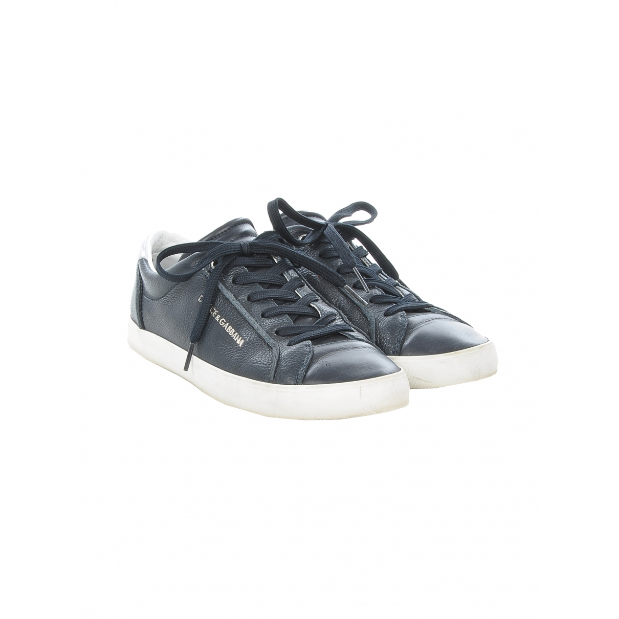 Dolce & Gabbana \N Navy Leather Lace ups for Men 6 UK