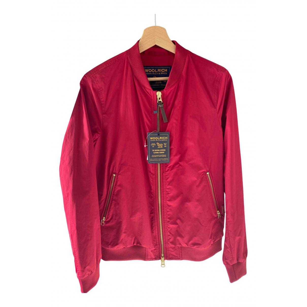Woolrich N Red jacket for Women M International