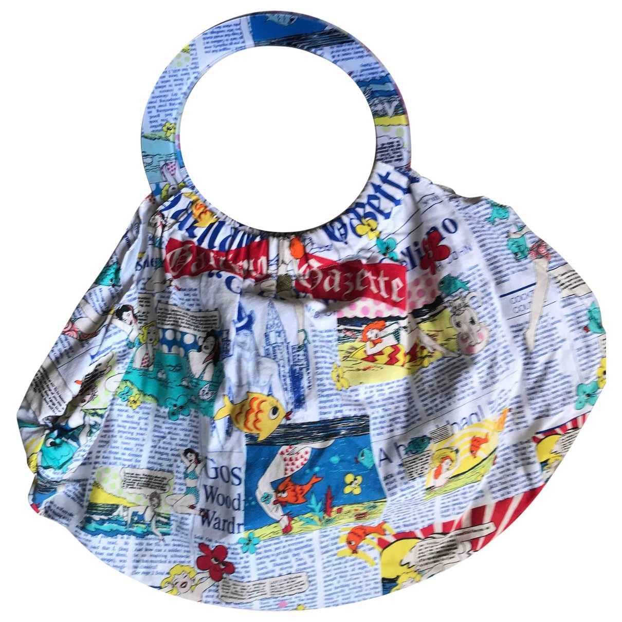 Galliano \N Handtasche in  Bunt Baumwolle