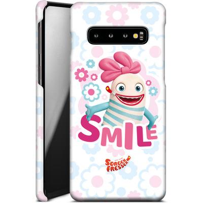 Samsung Galaxy S10 Smartphone Huelle - Sorgenfresser Smile von Sorgenfresser