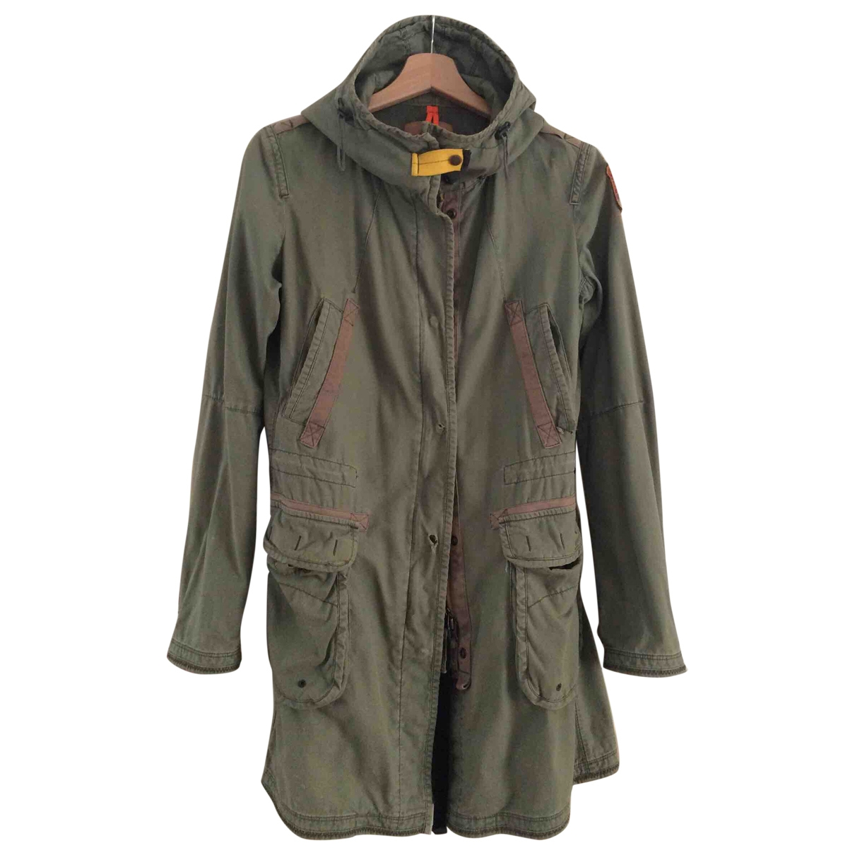 Parajumpers \N Khaki Cotton Trench coat for Women S International