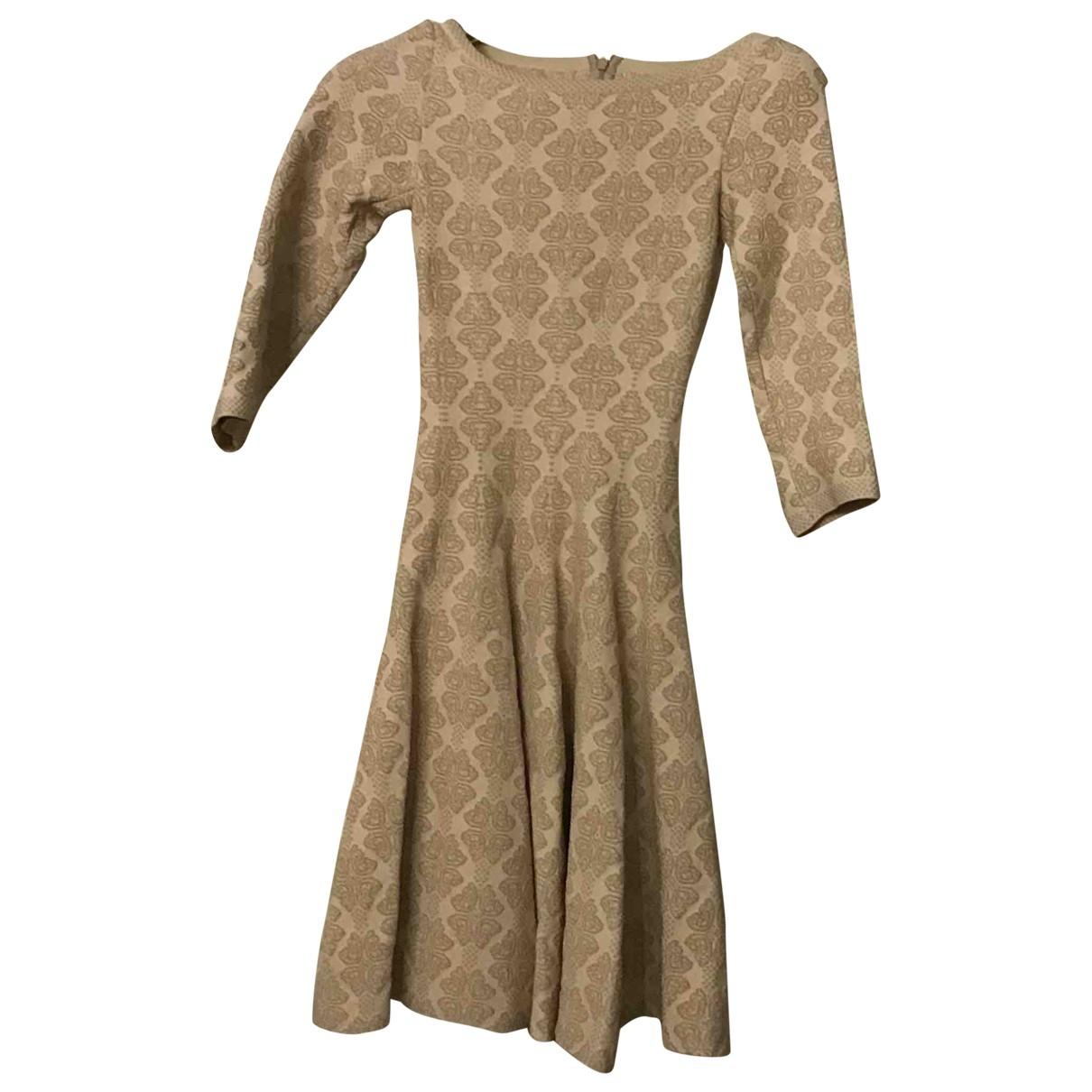 Alaïa \N Beige dress for Women 36 IT