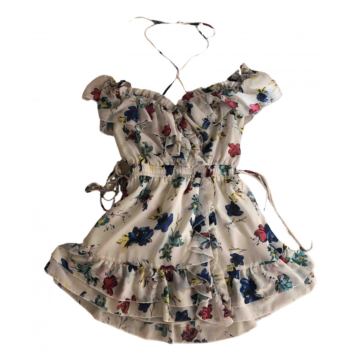 House Of Harlow \N Kleid in  Weiss Polyester
