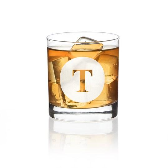 Hortense B. Hewitt Co. Engraved Drinking Glass | Alphabet T | 11 oz | Michaels®