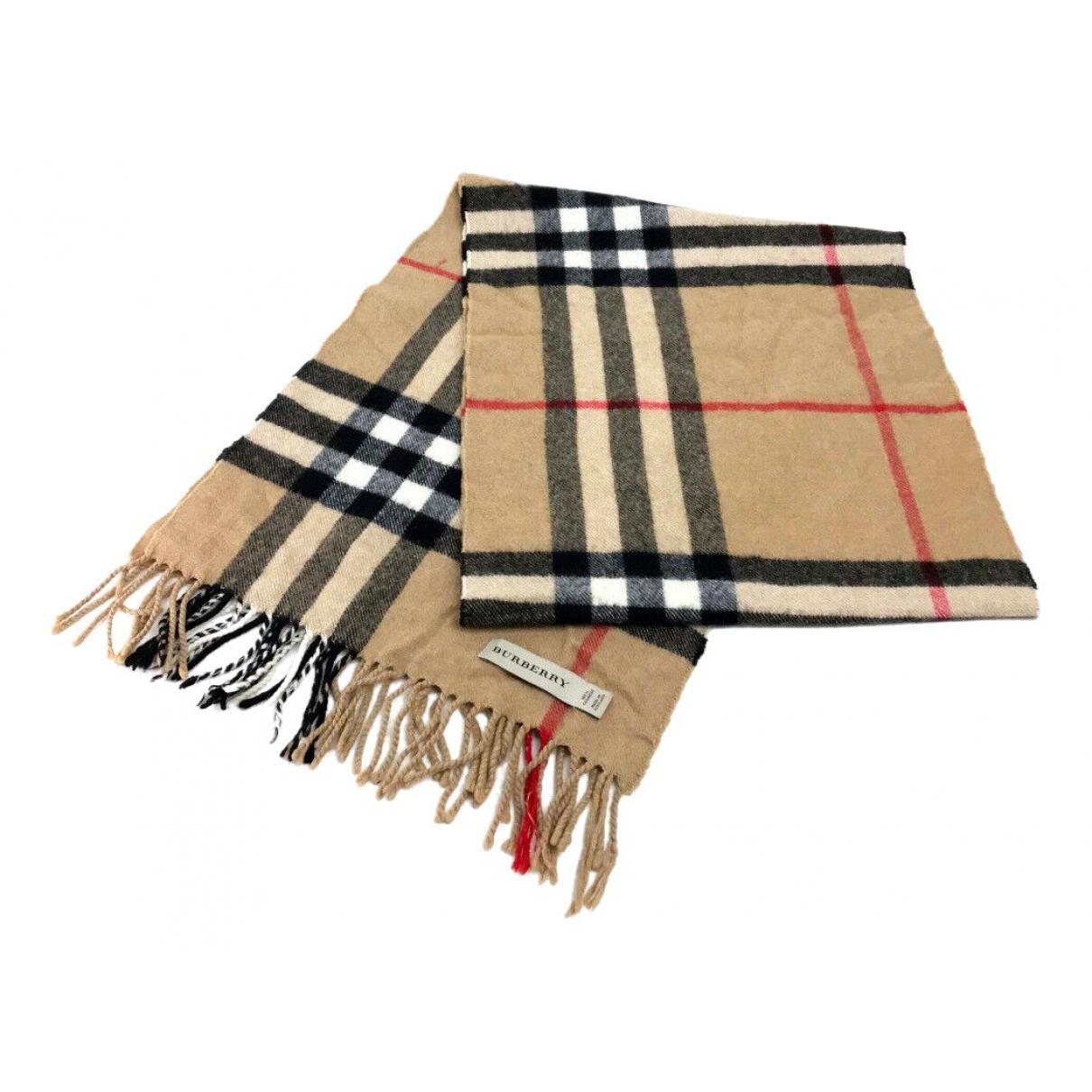 Burberry N Beige Cashmere scarf for Women N