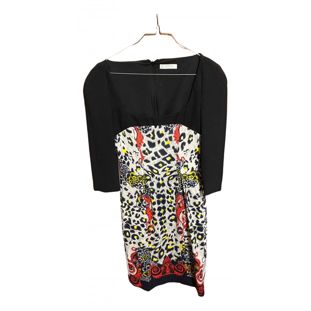 Versace - Robe   pour femme en coton - multicolore